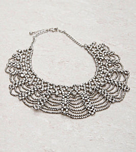Silver Mesh Necklace