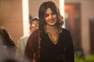 Priyanka Chopra in Gold Moon Circle