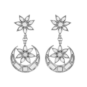 Star & Moon Mirror Earrings