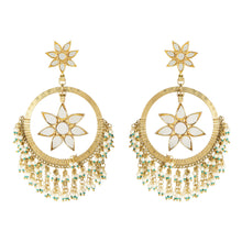 Load image into Gallery viewer, Starry Fringe Gold Earrings