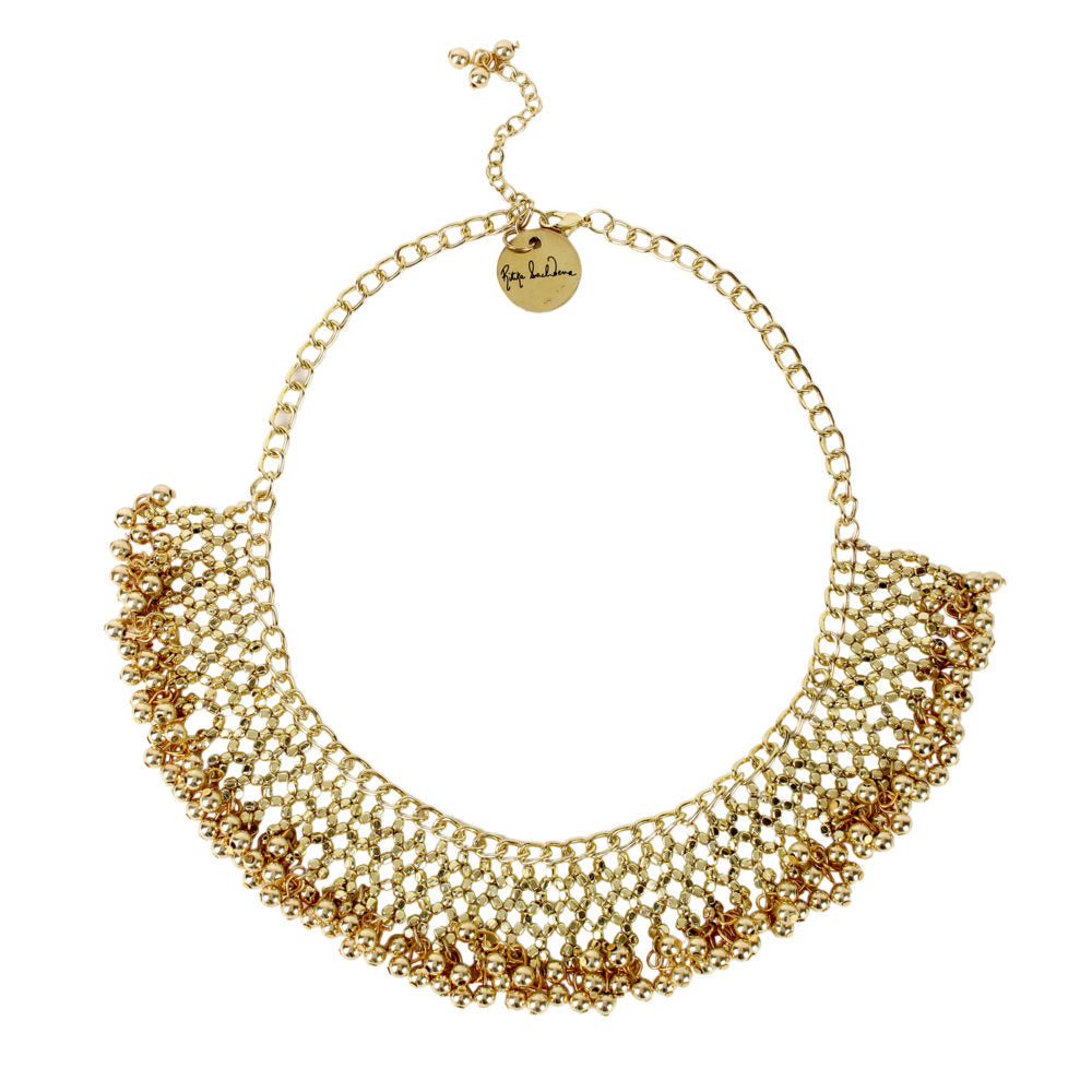 Jaal Necklace in Gold Necklace