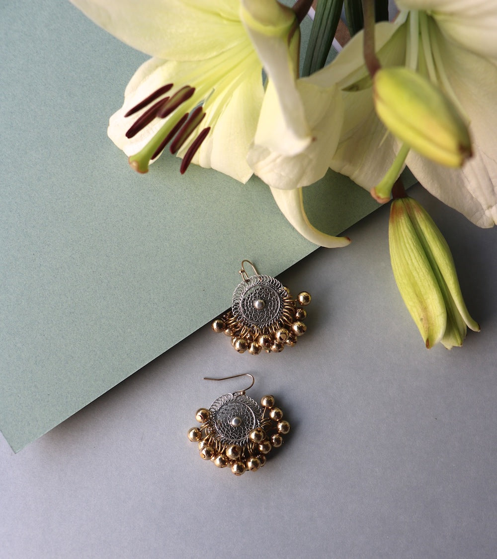 Mix Baby Filigree Earrings