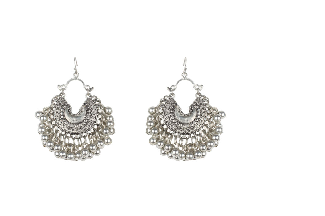 Baby Crescent Ghungroo Earrings
