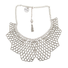 Load image into Gallery viewer, Geometric Jaal Necklace