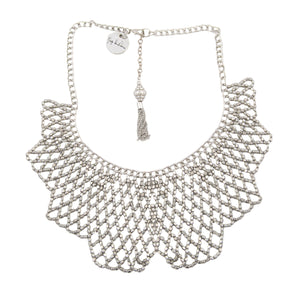 Geometric Jaal Necklace