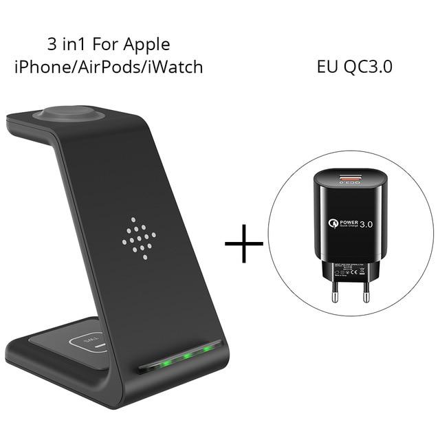 3 in 1 Wireless Charger Station Beateet Apple-EU