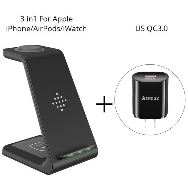 3 in 1 Wireless Charger Station Beateet Apple-US