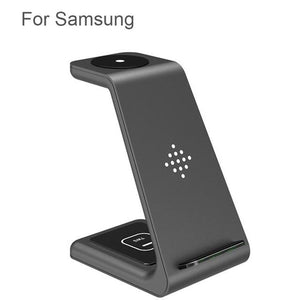 3 in 1 Wireless Charger Station Beateet Samsung