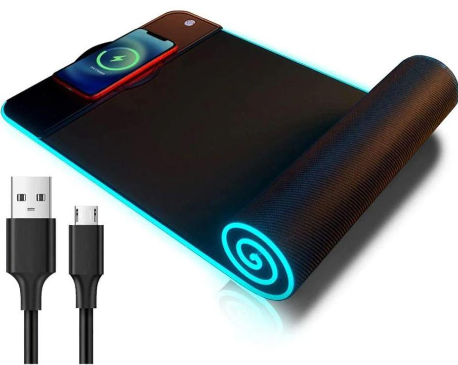 RGB Wireless Charging Computer Mousepad Beateet