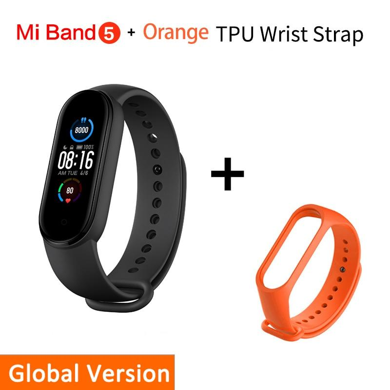 Smart Bracelet Xiaomi Mi Band 5 Beateet Orange