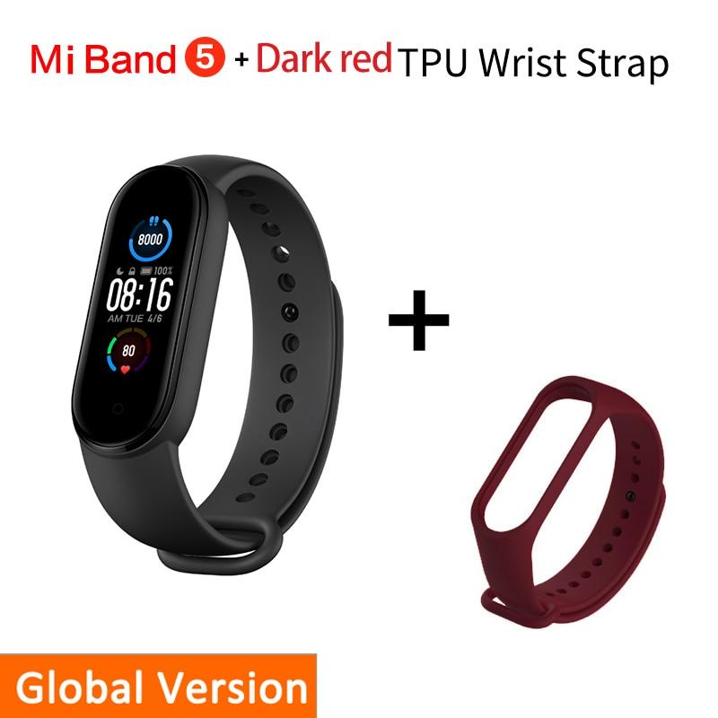 Smart Bracelet Xiaomi Mi Band 5 Beateet Red