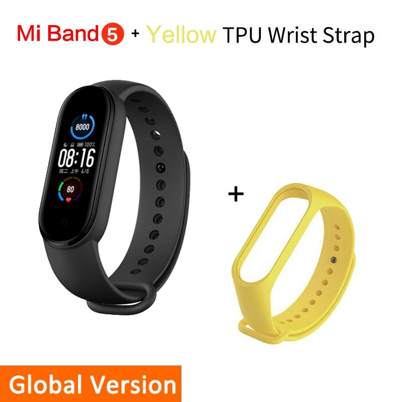 Smart Bracelet Xiaomi Mi Band 5 Beateet Yellow