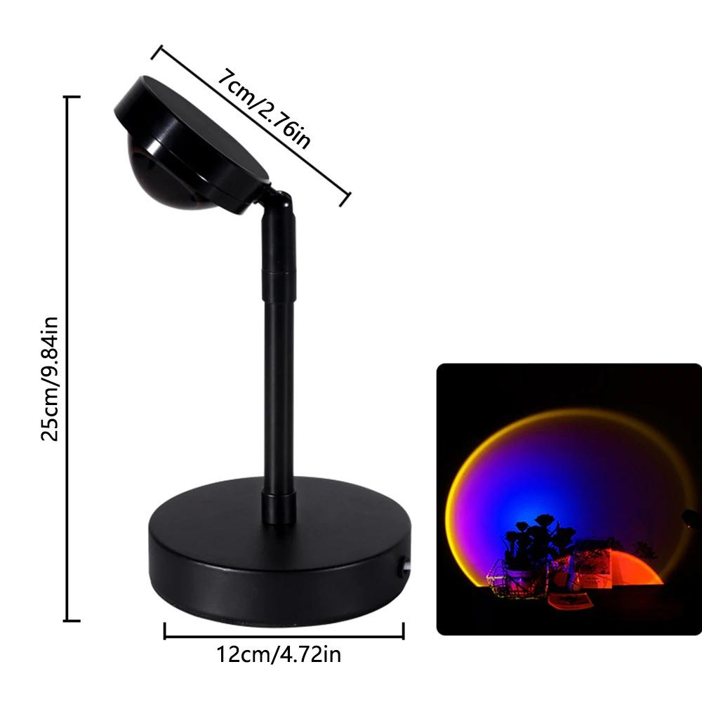 SunTouch - Sunset Projector Lamp Beateet Rainbow