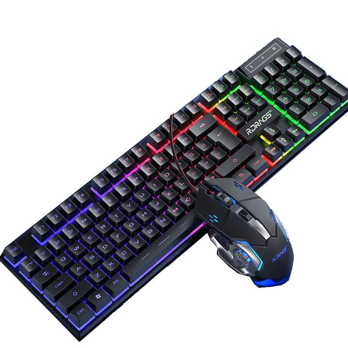 The Rainbow Touch Keyboard + Mouse Free Beateet