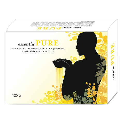 essentia PURE BATH BAR | Moisture Balancer to Keep Skin Soft & Supple | 125 gm X 2 Soaps