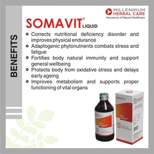 Benefits of SOMAVIT LIQUID