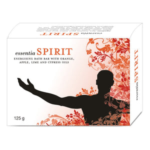 essentia SPIRIT BATH BAR | Moisture Balancer to Keep Skin Soft & Supple | 125 gm X 2 Soaps