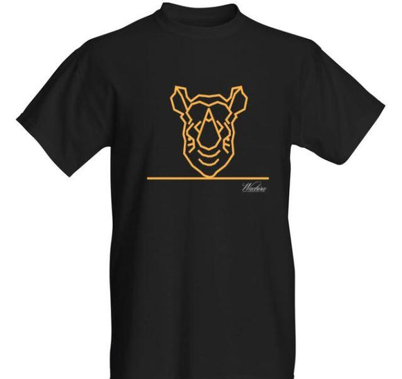 Men Wachira Rhino Short Sleeved T-shirt