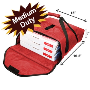Price Point Thermal Pizza Bag-Red