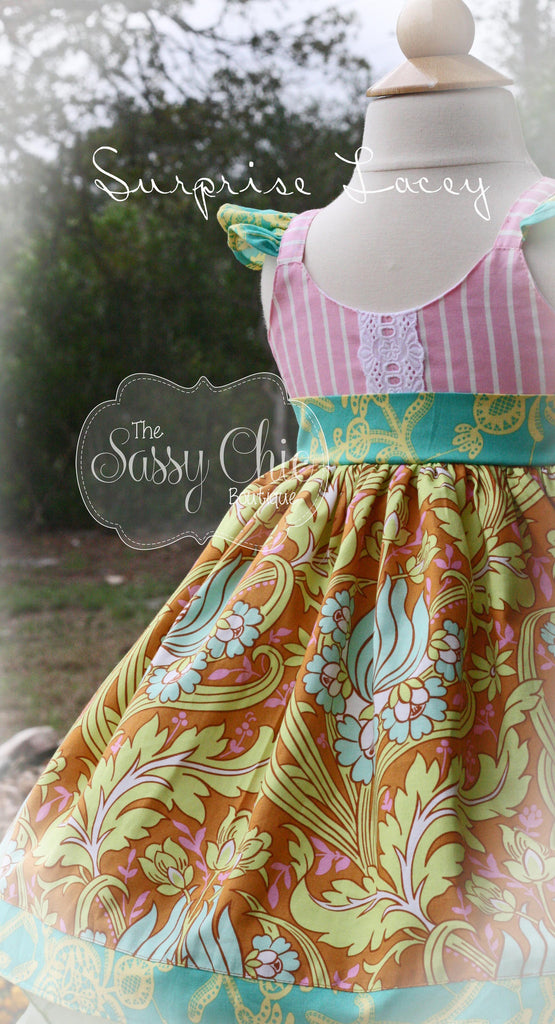 Surprise Lacey {Tea Length Dress}