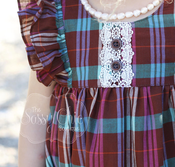 The Fall Plaid Dress