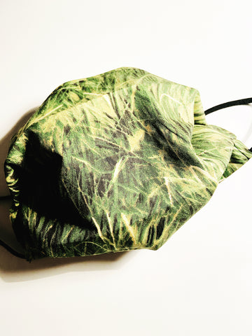 Grass Camo |CHOOSE Your Size|Pocket Face Mask w/ Filter, 100% Cotton, Reusable & Washable | 3 Layers | Made in USA