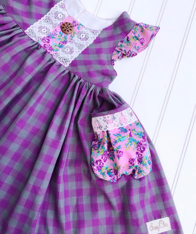 Purple Clara Dress PRE-ORDER