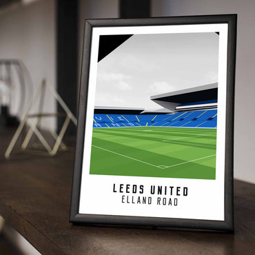 Leeds United Stadium Poster