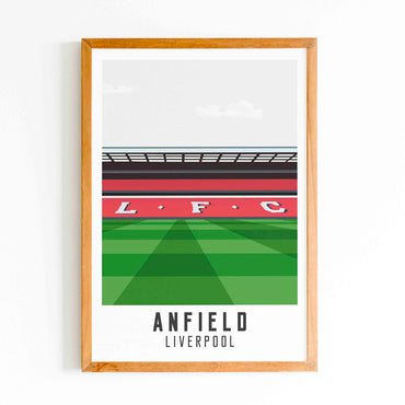 Liverpool - Anfield Print
