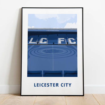 leicester city poster