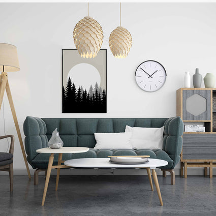 Abstract Forest Print
