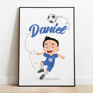 Personalised Chelsea Print for children