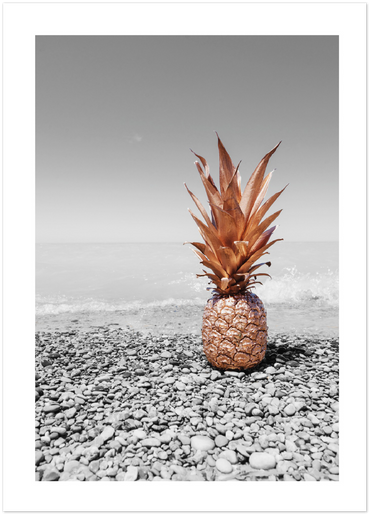 golden pineapple poster
