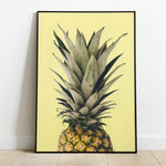 Multicolor Abstract Pineapple Print