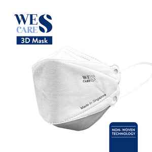 [1Pc] 3D Premium Face Mask (KF94 Design) | Made In Singapore | BFE 99.9% UV Sterilised
