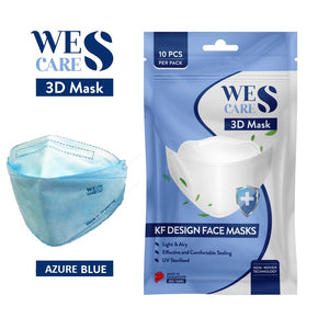3D Premium Face Mask - Deluxe Super Soft [20Pcs]  (KF94 Design) | Made in Singapore | BFE 99.9% UV Sterilised