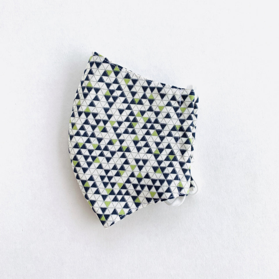 Japan Cotton Child Mask - Geometry | Made in Singapore