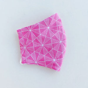 Japan Cotton Mask - Prism Pink | Made in Singapore