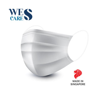3Ply Premium White Surgical Face Masks - Box of 50