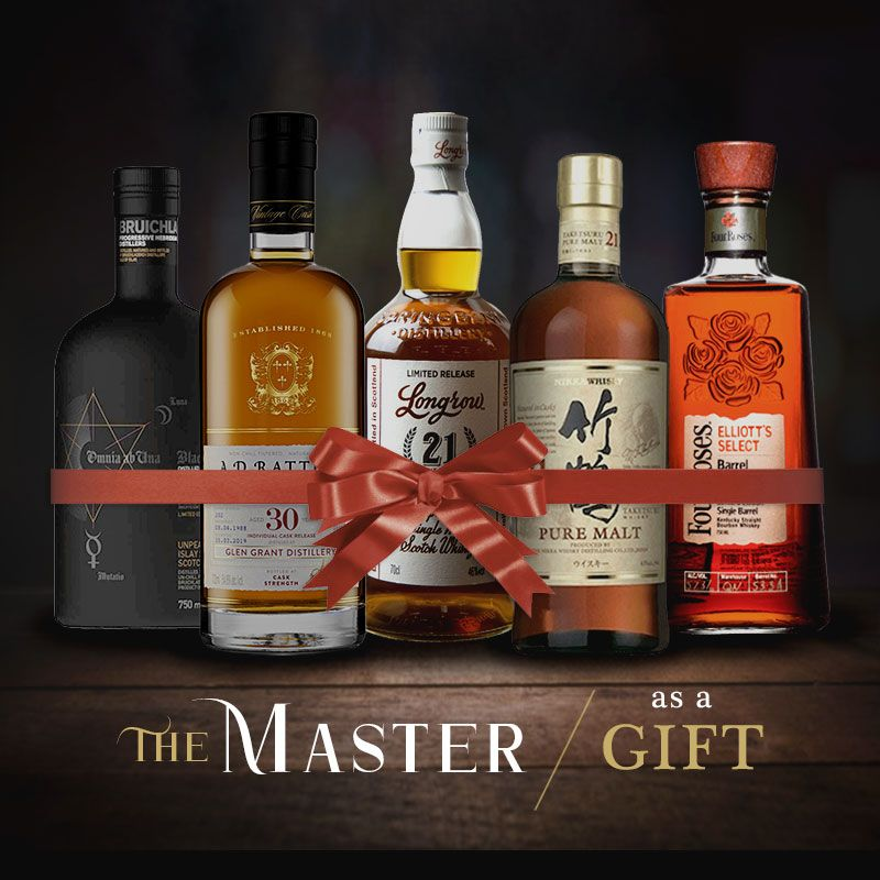 The Master Whisky Gift