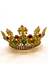 Jeweled French Saint's Crown Circa 1910