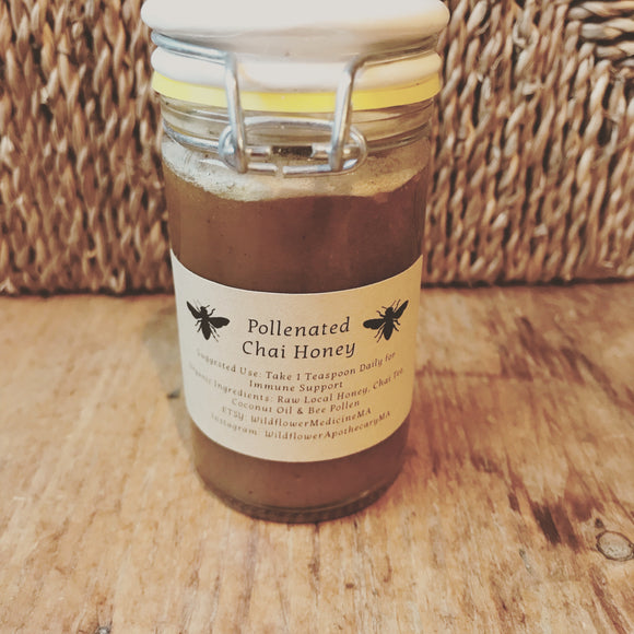 Pollenated Chai Honey