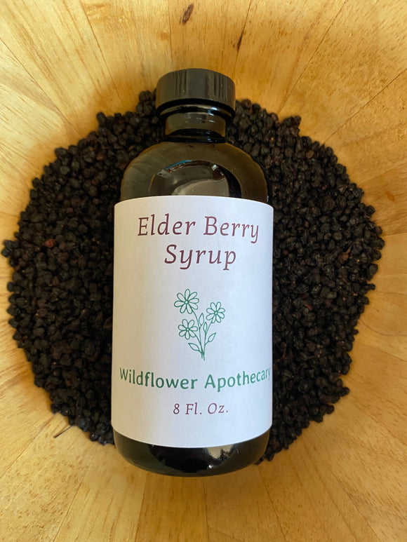 Elder Berry Syrup