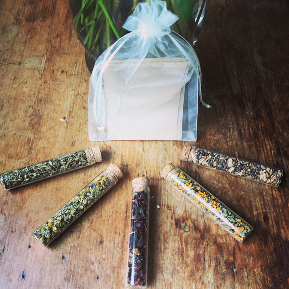 Tea Vial Gift Set