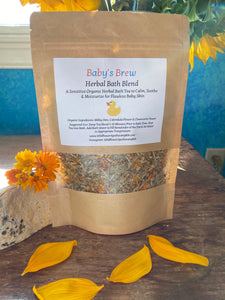 Baby's Brew Herbal Bath Blend