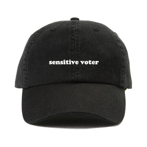 Sensitive Voter Dad Cap (Supporting the Fight Against Voter Suppression)