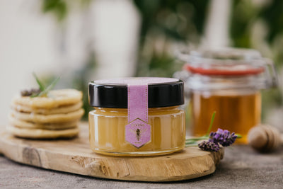 Cream Honey with Lavender Flowers infusion.