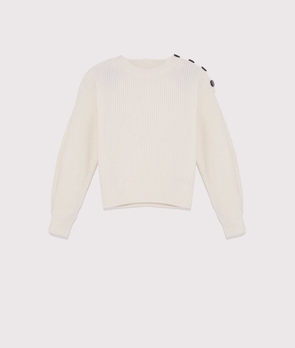 Cashmere knit sweater