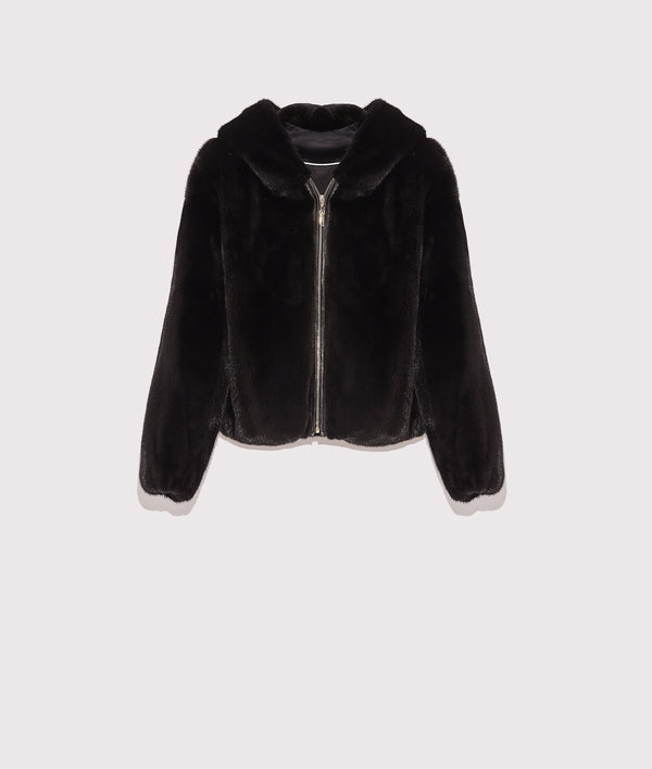 Short mink jacket