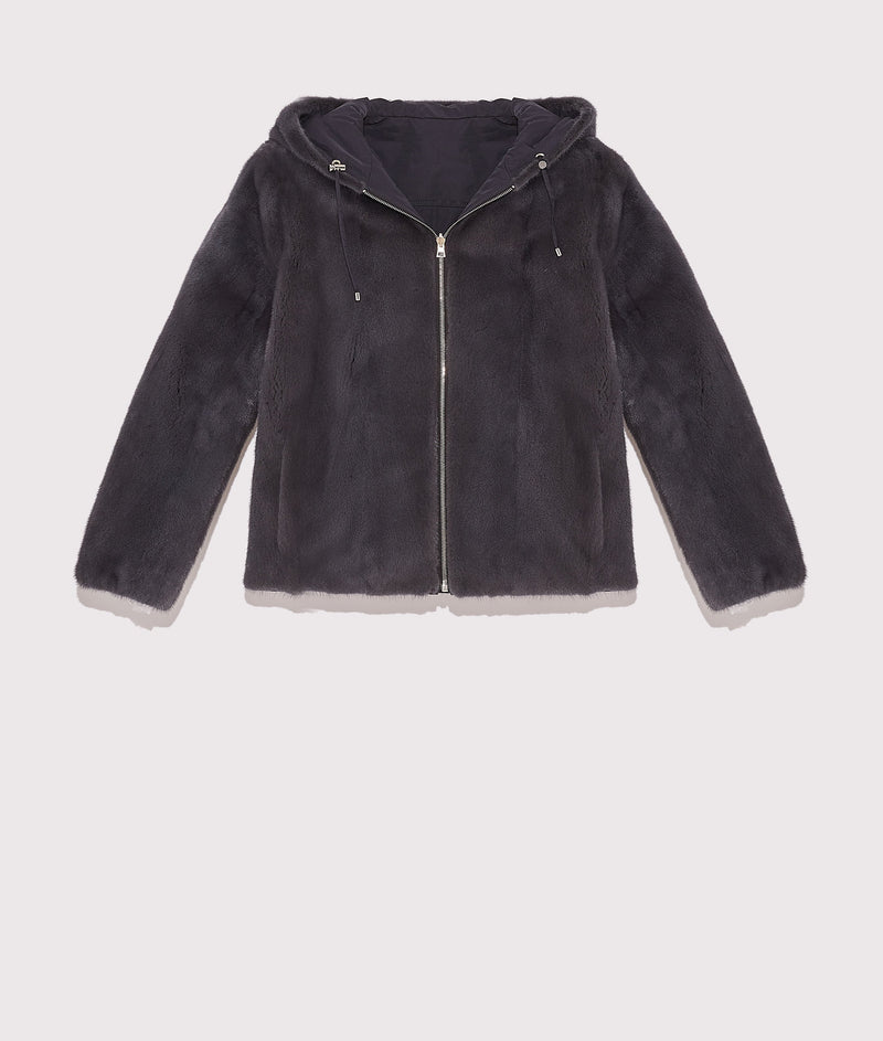 Reversible short jacket